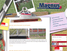 Tablet Preview of hockeyclubmagnus.nl